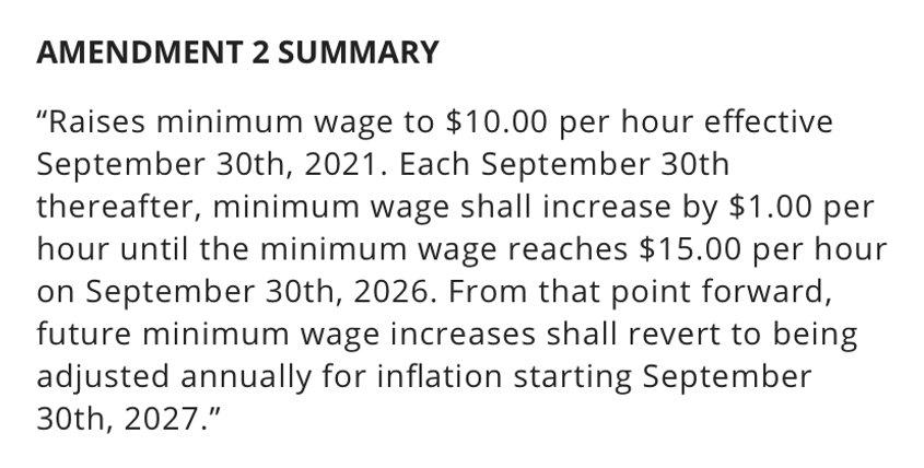 Amendment 2 passes, will raise Florida's minimum wage to $15