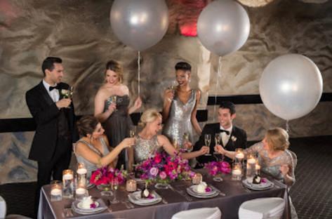 cafe la cave bridal party