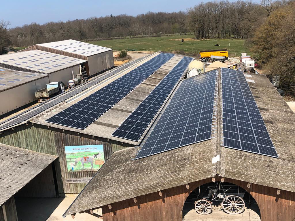 Production solaire exploitation