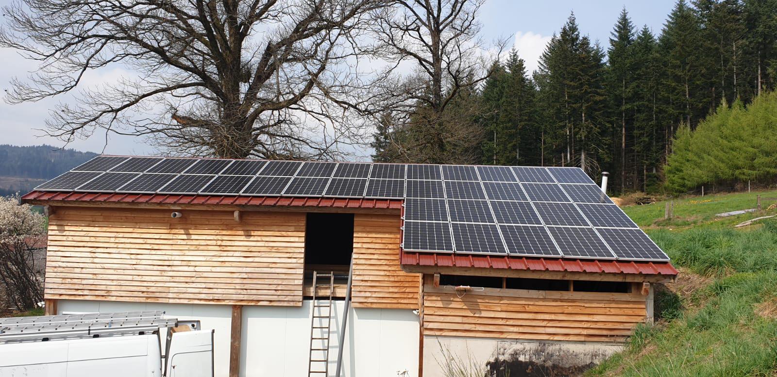 Autoproduction solaire