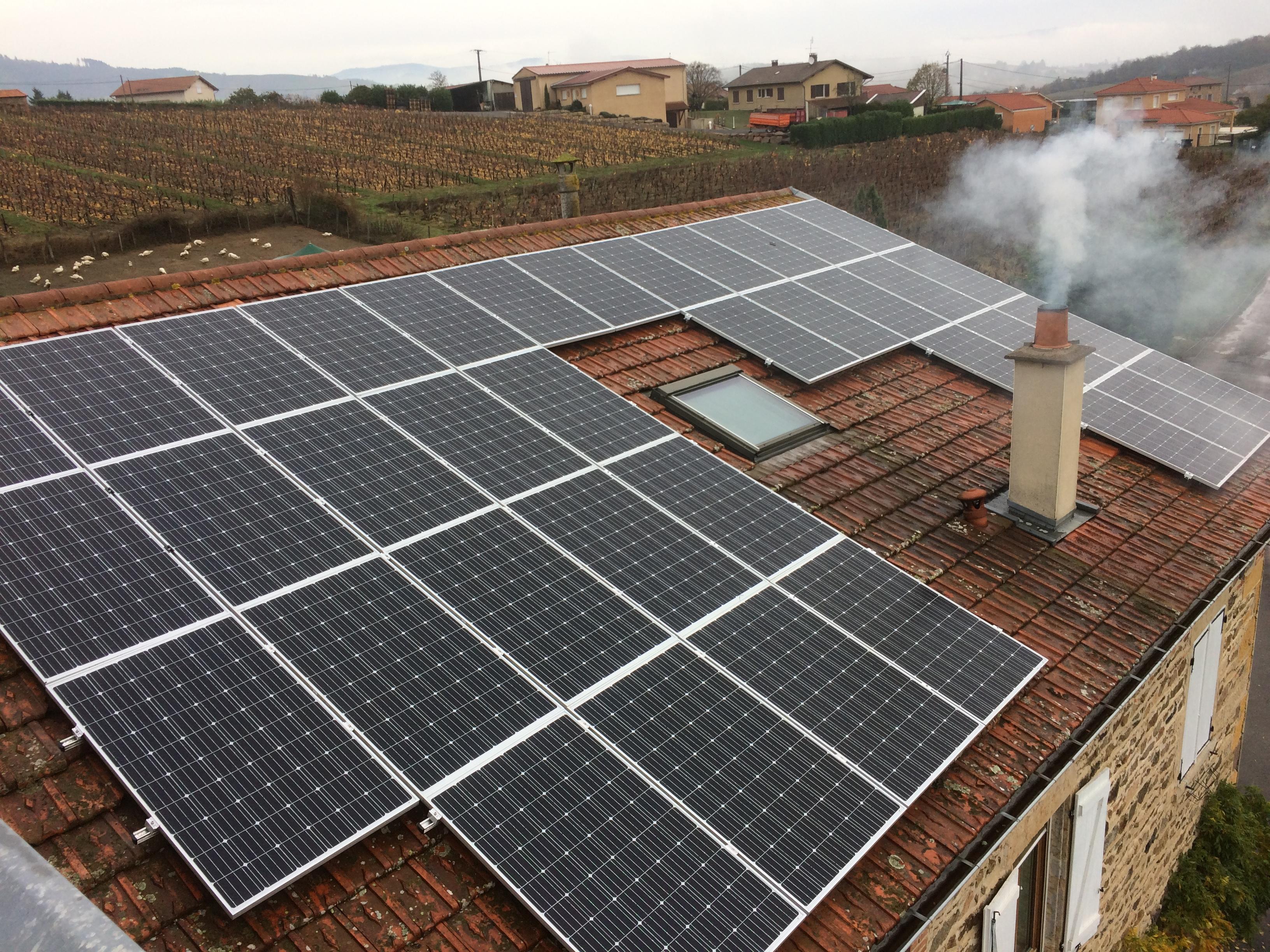 professionnel photovoltaïque
