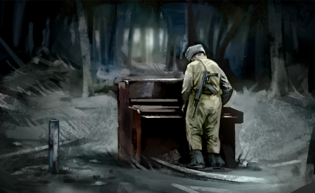 russian soldier piano 11