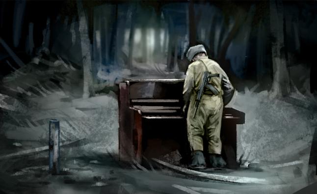 russian soldier piano 11