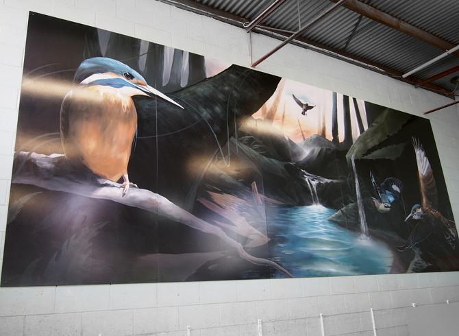 Wings 'N Things Mural