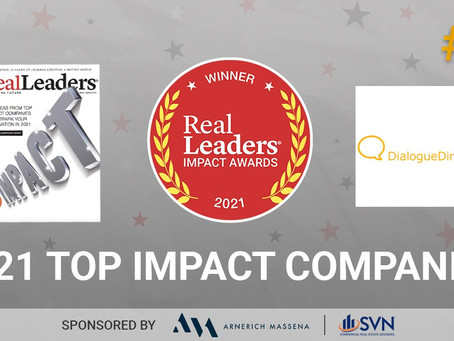 DialogueDirect Awarded Real Leaders® 150 Top Impact Companies of 2021