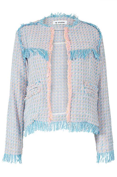 Pastel Tweed Jacket