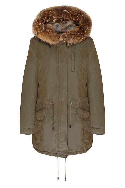Icon Parka Complete Fur Vest