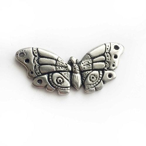 Butterfly Moth brooch Art Deco pin