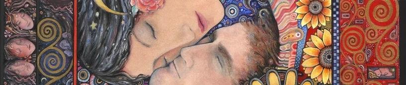 the sun andmoon lovers romantic art