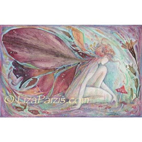 Garden Fairy art print flower fairy picture