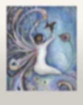 sylph fairy picture purple fairy painting sylph art