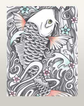 koi fish tattoo japanese koi design