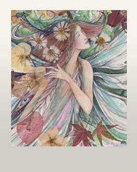 whimsical fairy art fairy painting fairy gift