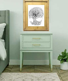 tree lovers art gift