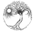 Tree of Life drawing tattoo design