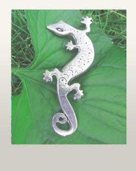 lizard jewelry lizard pin slalamander bracelet