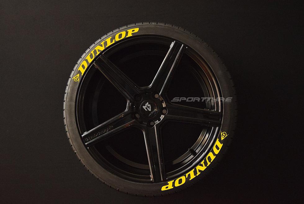 DUNLOP SportTyre EVO4 High Performance. Set 8 + 1 Activador + 1 Limpiador