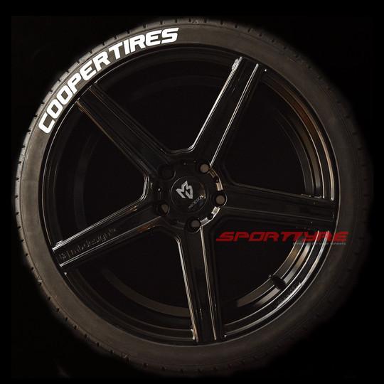 COOPER TIRES blanco 1 SportTyre EVO4 log