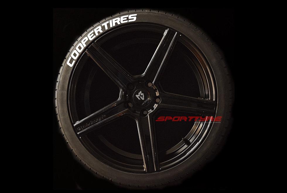 COOPER TIRES SportTyre EVO4 High Performance. Set 4 + 1 Activador