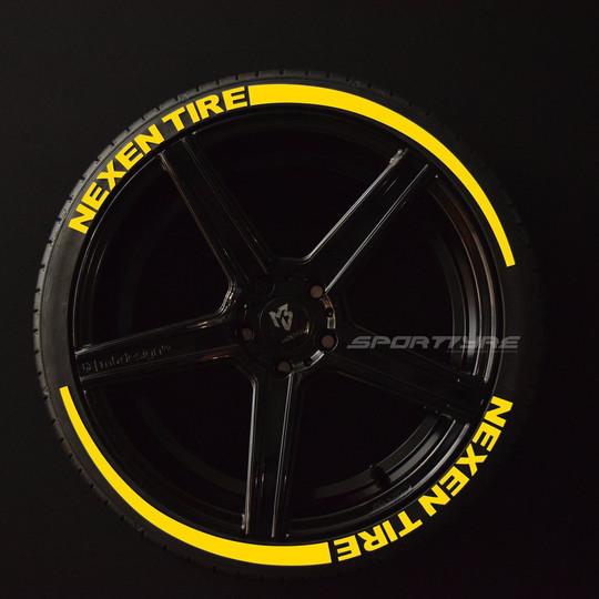 NEXEN TIRES amarillo 2 flechas SportTyre