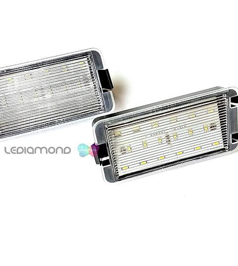 Plafones LED Matrícula SEAT Arosa Ibiza 09-99 Toledo II Toledo III LMD032601