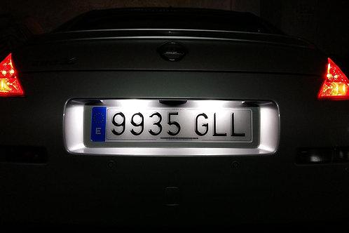 Plafones LED Matrícula TOYOTA AURIS 2014 RAV4 LMD030416