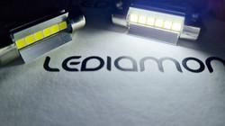 LEDIAMOND C5W-FESTOON ALUMINUM ICE LUZ 3