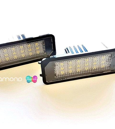 Plafones LED Matrícula VW GOLF 4, 5, 6, 7 POLO 6R 6C SCIROCCO PASSAT LMD030601