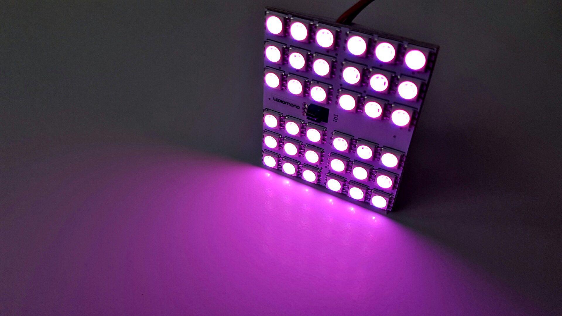 LEDIAMOND RGB PANEL 36 LED LUZ 3