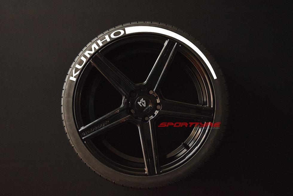 KUMHO + ARROW SportTyre EVO4 Top Quality Set 4 + 2 Activador + 1 Limpiador