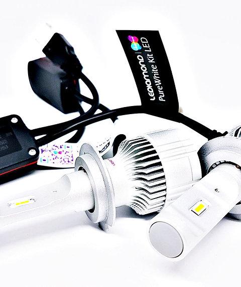 LEDiamond PureWhite REVOLUTION. Kit LED Luz corta o larga. Blanco Diamante
