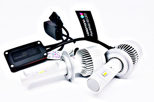 LEDiamond PureWhite REVOLUTION. Kit LED Luz corta o larga. Blanco Diamante