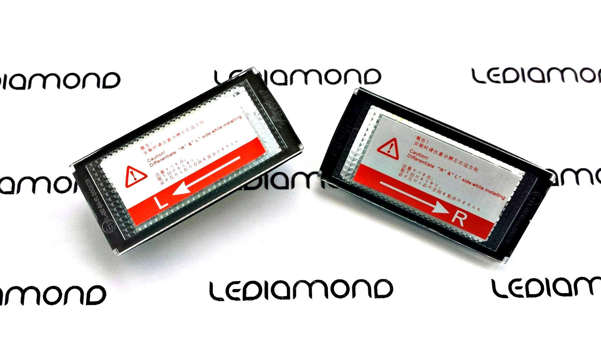 PLAFONES MATRICULA LED BMW E46 COUPE 2D y M3 LEDIAMOND LMD030101 B