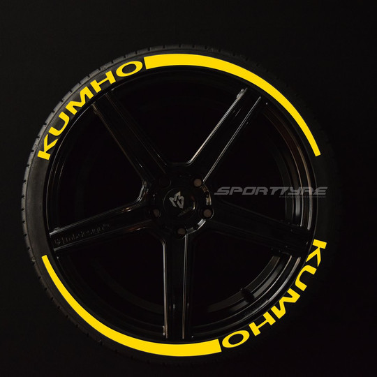 KUMHO amarillo con flechas SportTyre EVO