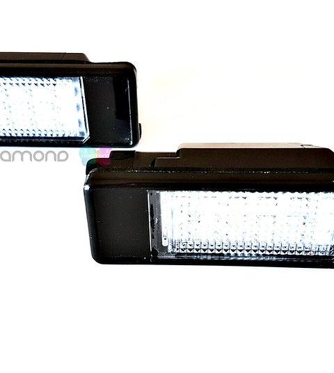 Plafones LED Matrícula CITROËN C2 C3 C4 C5 C6 C8 DS3 BERLINGO ... LMD032002