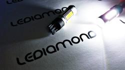 LEDIAMOND W5W-T10 24V 27SMD SAMSUNG 4014 luz