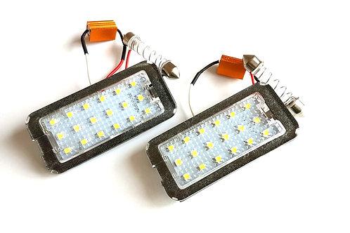 Plafones LED Matrícula FIAT 500 y Gama 500 ... LMD030132