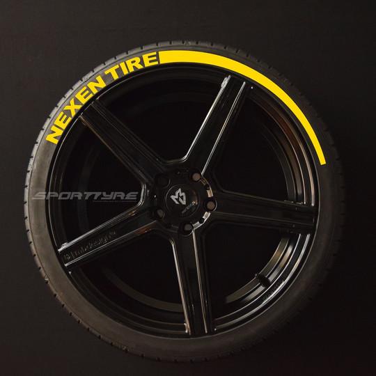 NEXEN TIRE amarillo Flecha SportTyre EVO