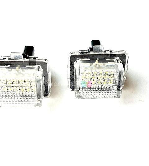 Plafones LED Matrícula MERCEDES-BENZ W204 W205 W216 W218 W212 CLA ... LMD030213