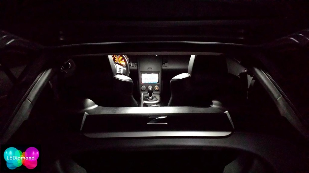 bombillas interior lediamond nissan 350Z