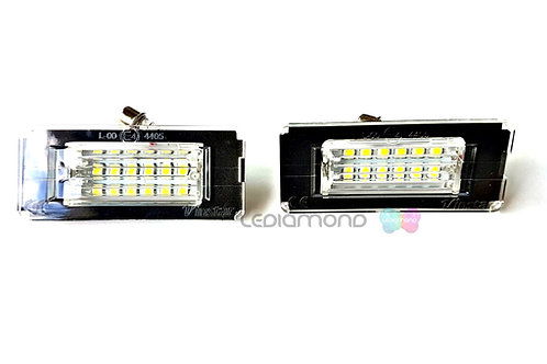 Plafones LED Matrícula MINI R52 R55 56 R56N R57 R58 R59... LMD030115