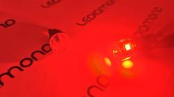 LEDIAMOND W5W-T10 CLEAR ROJO LUZ 3
