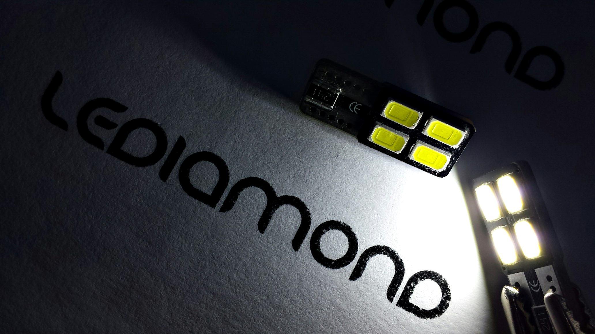 LEDIAMOND W5W-T10 4 SMD FRONTALES SAMSUNG 5630 B