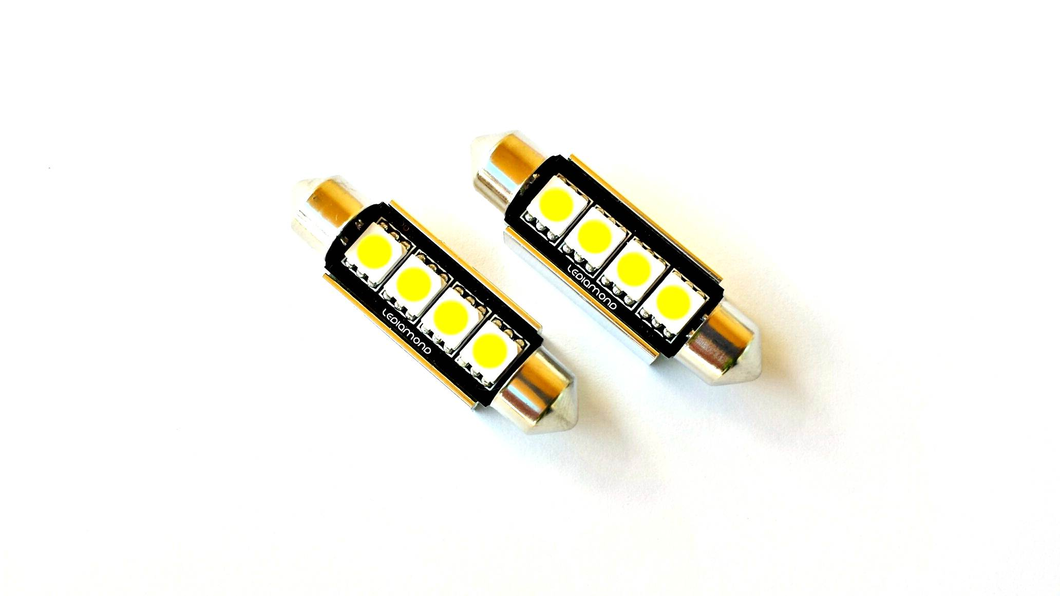 bombillas lediamond c5w festoon 42mm samsung 5050 B