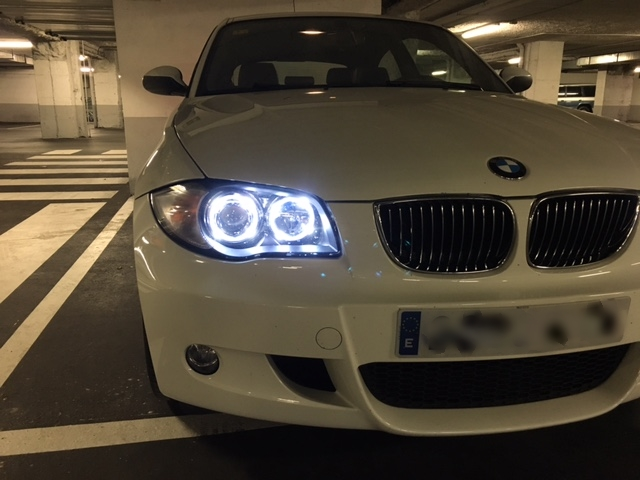 LEDIAMOND bmw serie 1 ANGEL EYES BOMBILLAS T5