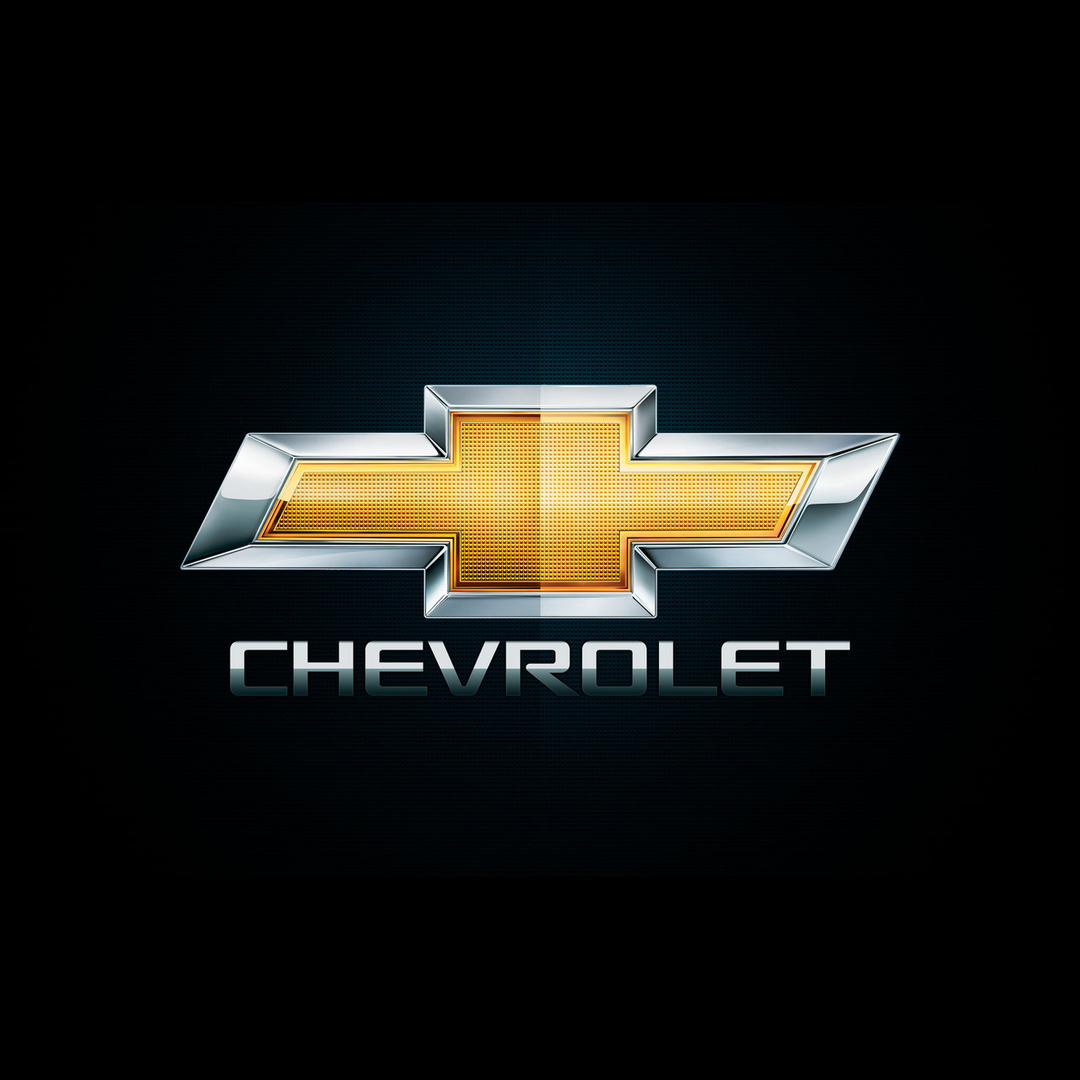 Plafones LED matricula Chevrolet