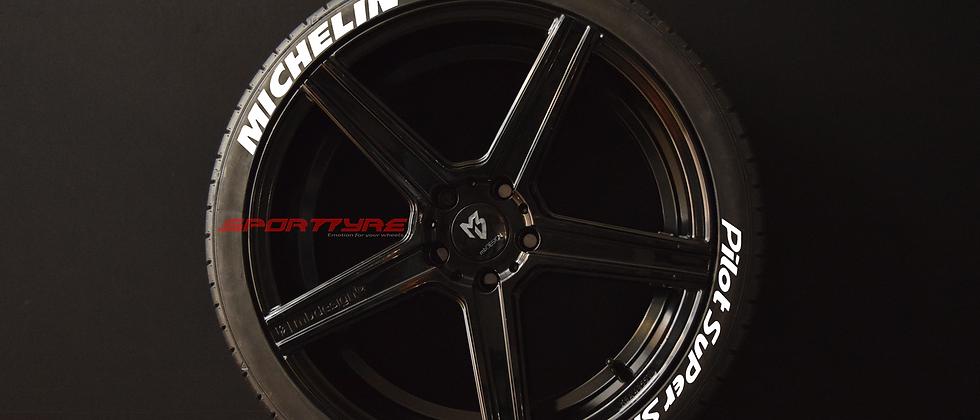 MICHELIN + Pilot Super Sport EVO4. Set (4+4) + 1 Activador + 1 Limpiador