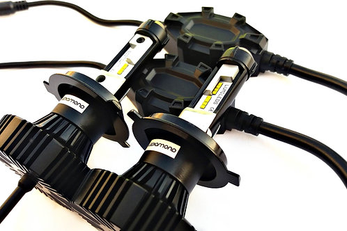 LEDiamond PureWhite 360 ESPAIR H15. Kit LED Alta Gama Luz larga + diurna