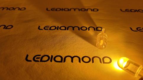 LEDIAMOND WY5W-T10 CRYSTAL AMBAR LUZ 4.j