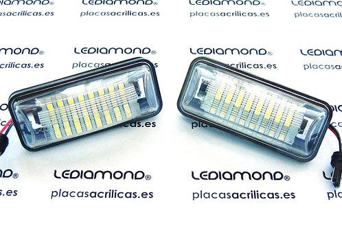 Plafones LED Matrícula TOYOTA 86 GT86 FT86 LMD030405